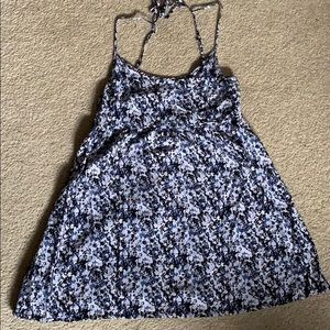 Divided - Blue and purple sundress